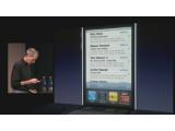 Bild: Sobald der Nutzer die Hometaste zweimal drückt, erscheinen am unteren Bildschirmrand des iPhones alle geöffneten Apps.