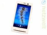 Bild: Sony Ericsson Xperia X10: Timescape-Oberfläche.