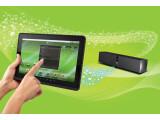 """Bild: Tablet mit Android-Betriebssystem: Creative ZiiO in der 10""""-Variante. Bild: Creative"""