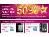 Bild: Die Telekom gewährt Neukunden am 8. Dezember 50 Prozent Rabatt auf seine Smartphone-Preise.