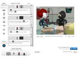 Bild: Ein Blick in das Online-Trickfilmstudio.(Klick vergrößert)