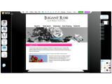 Bild: Über eine aufgeräumte Oberfläche können Anwender mit Wix.com Flash-Webseiten gestalten.