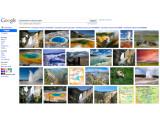Bild: Die überarbeitete Bildersuche von Google: Nun passen deutlich mehr Bilder auf eine Seite.
