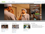 Bild: US-Portal Hulu: In Deutschland sucht man eine vergleichbare Plattform vergeblich. Ein geplantes Internet-Portal von RTL und ProSiebenSat.1 könnte Abhilfe schaffen. Bild: Screenshot