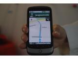 Bild: Vektorbasierte Kartenansicht von Google Maps Navigation: Der Dienst ist jetzt gratis auch in Deutschland verfügbar. Bild: Zollondz