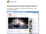 Bild: Die Version 8 von Googles Browser Chrome steht zum Download bereit.