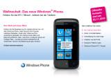 Bild: Verspäteter Start: Bei der Telekom sind WP7-Handys erst ab November erhältlich.