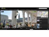 "Bild: Virtueller Stadtrundgang durch Hamburg: Alsterarkaden in ""sightwalk"". Bild: Screenshot"