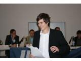 Bild: Der Vorsitzende der Jungen Union Berlin Conrad Clemens