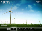 Bild: Mit Weather HD wird auch schlechtes Wetter durch die großflächigen Animationen zum optischen Highlight