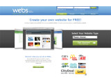 Bild: Webs.com: Homepagebaukasten mit vielen Möglichkeiten