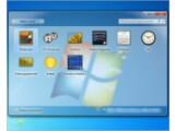 Bild: Die integrierten Windows 7-Minianwendungen.