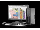 Bild: Rechenleistung wie eine ausgewachsene Workstation, Platzbedarf wie ein kompakter Desktop: HPs Workstation Z200 SFF nutzt die schnellsten Quadcore-Prozessoren von Intel und fasst bis zu 16 Gigabyte Arbeitsspeicher.