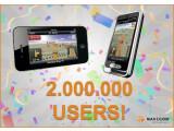 Bild: Bis zum 13. Februar: Navigon feiert den zweimillionsten Nutzer und senkt die Preise ihrer mobilen Anwendungen.