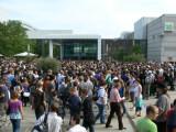 Bild: Seit 2009 trifft sich die Spielebranche auf der Gamescom in Köln.