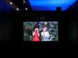 Bild: 3D ohne Brille: Auf der CES stellte Toshiba diesen 65 Zoll großen 3D-Fernseher der nächsten Generation vor, der auch nach Deutschland kommt.