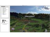 Bild: 3D RealityMaps Viewer erlaubt u.a. einen virtuelle Blick auf die Allgäuer Alpen.