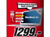 Bild: 90 Euro günstiger als im Apple Store: Media Markt bietet die 13 Zoll-Variante des MacBook Air an.
