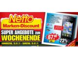 Bild: Ab Donnerstag: Netto bietet das LG T300 Cookie lite für knapp 68 Euro an.