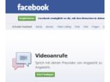 Bild: Ab sofort können Nutzer in Facebook mit einem Freund per Video chatten.