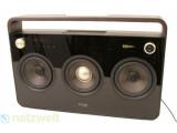 Bild: Abspielsystem in Ghettoblaster-Optik: die Boombox von TDK.