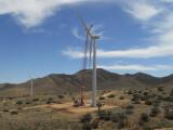 Bild: Das Alta Wind Energy Center in der Mojave-Wüste ist noch nicht ganz fertig gestellt.