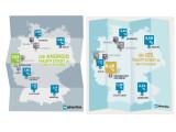 Bild: Android und iOS wird unterschiedlich häufig in den größten deutschen Städten genutzt.