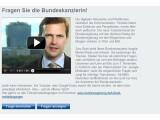 Bild: Angela Merkel steht ab sofort YouTube-Nutzern Rede und Antwort.