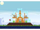 Bild: Angry Birds unter Chrome: Sogar eine Handvoll Extra-Level erwartet die Fans.