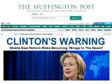 Bild: Der nun zu AOL gehörenden Online-Zeitung Huffington Post steht ein Rechtsstreit bevor.