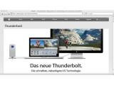 Bild: Apple bietet Thunderbolt in der jüngsten MacBook- und iMac-Generation an.