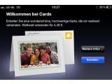 Bild: Apple Cards ist eine der wenigen Apps, die Apple selbst entwickelt hat.