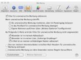 Bild: Apple Mail kann E-Mails mit Spam- und Filter-Regeln sortieren.