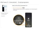 Bild: Apple ruft die erste Generation des iPod nano zurück.
