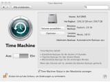 Bild: Apple Time Machine sichert in der Voreinstellung die gesamte Festplatte, was häufig nicht notwendig ist.