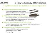 Bild: Archos nächste Tablet-Generation soll sich vor allem durch den leistungsstarken Prozessor absetzen.