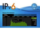 Bild: Die Auswertung von Akamai zeigt den IPv6-Datenverkehr sehr genau an.