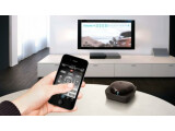 Bild: Die Beacon Universal Remote besteht aus einer App und einem Empfänger.