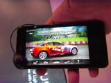 Bild: Besonders bei Spielen macht das LG Optimus Speed eine tolle Figur.