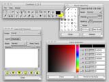 Bild: Die Bildbearbeitung CinePaint basiert auf dem Open-Source-Programm GIMP.