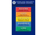 Bild: Das bisherige System mit fünf farbigen Stufen der Bedrohung wird demnächst ersetzt.