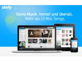 Bild: BITKOM und GEMA haben eine Einigung über Musik-Streamingdienste wie Simfy erzielt.