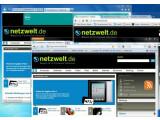 Bild: Browser-Übersicht