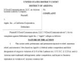 """Bild: Dem Bundesgericht in Arizona liegt eine Klage gegen Apple wegen dem Namen """"iCloud"""" vor."""
