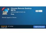 Bild: Chrome Remote Desktop Beta ermöglicht es Nutzern einen Computer aus der Ferne zu steuern.