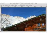 Bild: CinePaint bietet - genau wie GIMP - zahlreiche Werkzeuge und Filter.