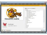 Bild: CloneDVD Mobile unterstützt dutzende Videoformate.