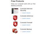 Bild: Comodo bietet eine Reihe an kostenloser Software zum Schutz des Rechners.
