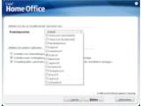 Bild: Corel Home Office kann wahlweise in einer anderen Sprache installiert werden.