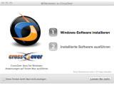 Bild: CrossOver ersetzt BootCamp und die Virtualisierung von Windows.